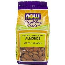 NOW Almonds Shelled - Product Image