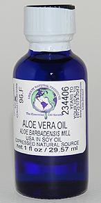 Aloe Vera Oil - 1 oz. - Product Image