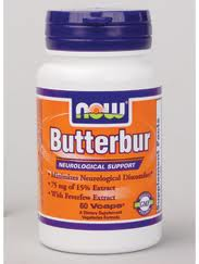 NOW - BUTTERBUR 75 MG - Product Image