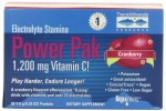 Electrolyte Stamina Power Pak Cranberry Flavor - Product Image