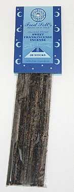 Fred Soll's Ancient Blend Sweet Frankincense Incense - 20 sticks - Product Image