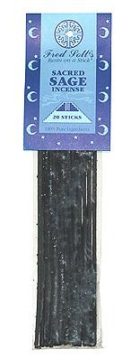 Fred Soll's Sacred Sage Incense - 20 sticks - Product Image