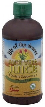 Lily of the Valley Aloe Vera Juice - Whole Leaf, 32 oz. - Product Image
