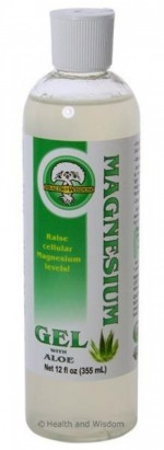 Magnesium Gel with Aloe Vera - 12 oz. - Product Image