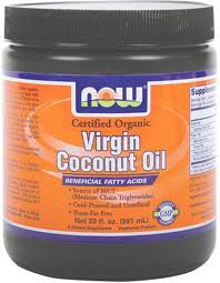 NOW Organic Virgin Coconut Oil - Product Image