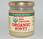 YS Organic Bee Farms 100% Certified Organic Honey - 8 oz. - #126 - Product Image