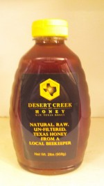 Desert Creek Honey, RAW Texas Honey - 2 lb. - Product Image