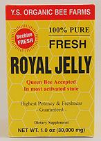 YS Organic Bee Farms 30,000 mg. Fresh Royal Jelly - 1 oz. - #1C - Product Image