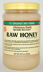 YS Organic Bee Farms Health Honey (Raw) - 22.0 oz. - #12B - Product Image